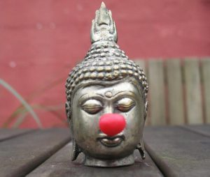 Nosing the Buddha. disrespectful???